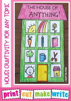 House Craftivity for ANY topic