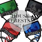 House Crests Set 4 by Taracotta Sunrise