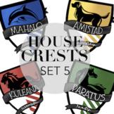 House Crests Set 5 By Taracotta Sunrise