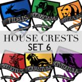 House Crests Set 6 By Taracotta Sunrise