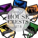 House Crests Set 8 by Taracotta Sunrise