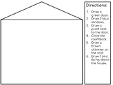House Drawing-Following Directions