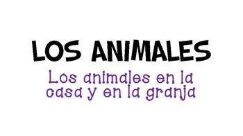 House & Farm Animal Vocabulary PowerPoint