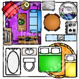 House Furniture Birdseye Clipart (House Clipart)