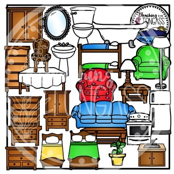 House Furniture Clipart