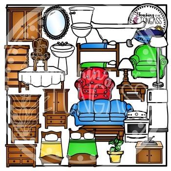 House Furniture Clipart Bundle