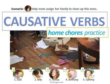 House & Home B: Causative Verbs Recap w/Home Maintenance (