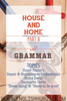 House & Home (Unit B Packet): Home Repairs and Maintenance