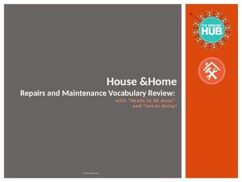 House & Home B: Repairs and Maintenance + Needs to be Review
