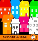 House & Homes Clip Art Set