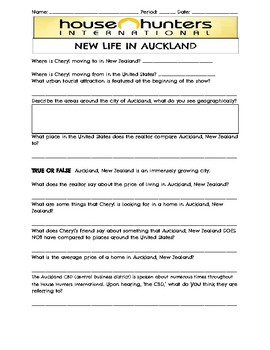 House Hunter's International--Auckland, New Zealand Viewing Guide!