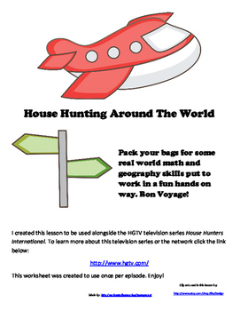 House Hunting Around The World Math and Geography