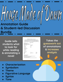 House Made of Dawn Annotation Guide and Student-led Discussion Bundle