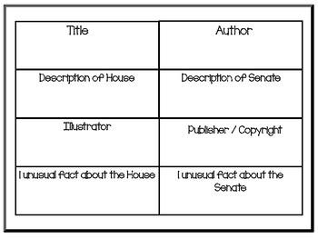 House Mouse    Senate Mouse   36 pgs Common Core Activities
