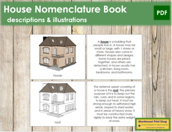 House Nomenclature Book