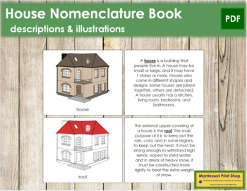 House Nomenclature Book - Red