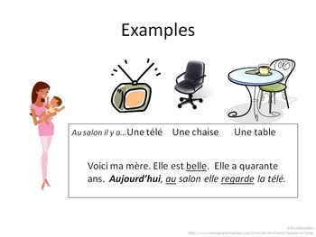 House, Objects, Activities Vocab Project for French 1; Rubric Included