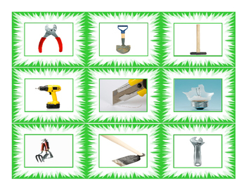 House Repairs Tools & Supply Cards