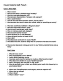 House Rules Comprehension Questions-Jodi Picoult