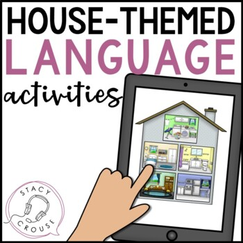 House Scenes: Open-Ended Language Activity (No Print)