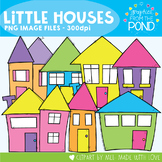 Little Houses - Clipart