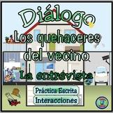 Home topic: Chores and Responsibilities Dialogue - Diálogo Temático