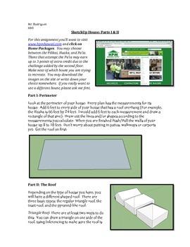 House - SketchUp (Computer Art Assignment 16)