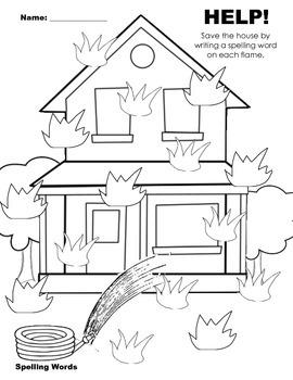 House Spelling Words
