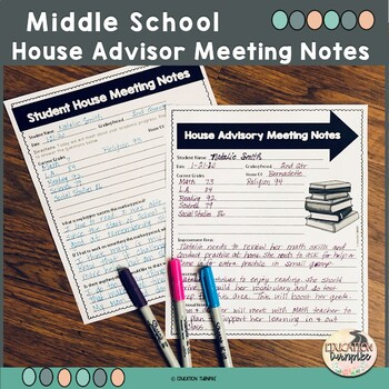 House System Meeting Forms