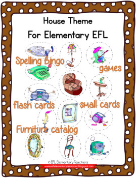 House Theme Resources for Elementary ESL/ELL