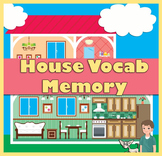House Vocabulary Memory Game