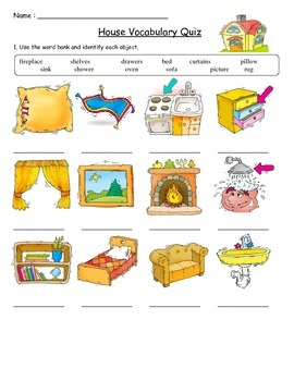House Vocabulary Quiz