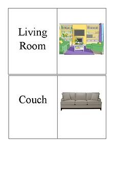 House Vocabulary Special Education