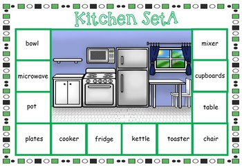House Vocabulary Worksheets and Games for ESL / EAL / ELL