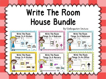 Parts Of A House Write The Room Bundle