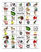 House & Farm Animal Bingo Cards