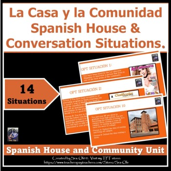 House, and community unit conversation situations PBA