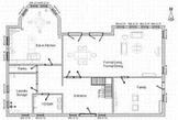 House floor plan design project