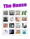 House in English Bingo