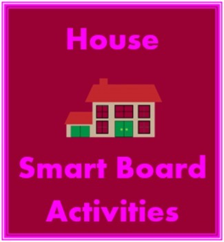 House in English Smartboard activities