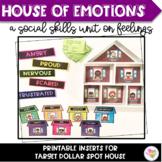 House of Emotions- A Social Skills Unit on Feelings (Target Dollar Spot Inserts)