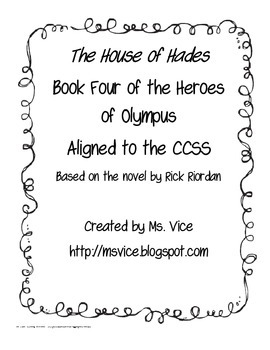 House of Hades Chronological Order Sort