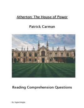 House of Power Comprehension Questions and Book Test