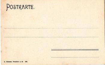 House of Rothschild  - Rothschildhaus Frankfurt  Photograph Postcard  1920's