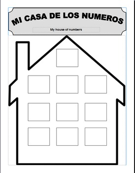 House of numbers/ Casa de numeros