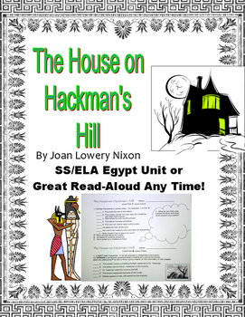 Egypt or Halloween Spooky Read Aloud Novel House on Hackman's Hill