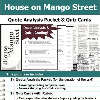 House on Mango Street Unit Bundle
