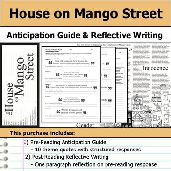 House on Mango Street - Anticipation Guide & Reflection