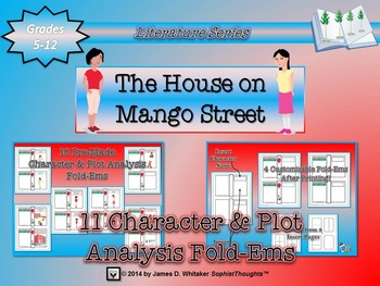 House on Mango Street Character & Plot Analysis Fold-Ems