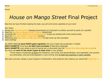 "house on mango street summary essay 3 days ago  in the house on mango street, cisneros writes of ""those who don't know"" about  her neighborhood and the people in it what is she saying."